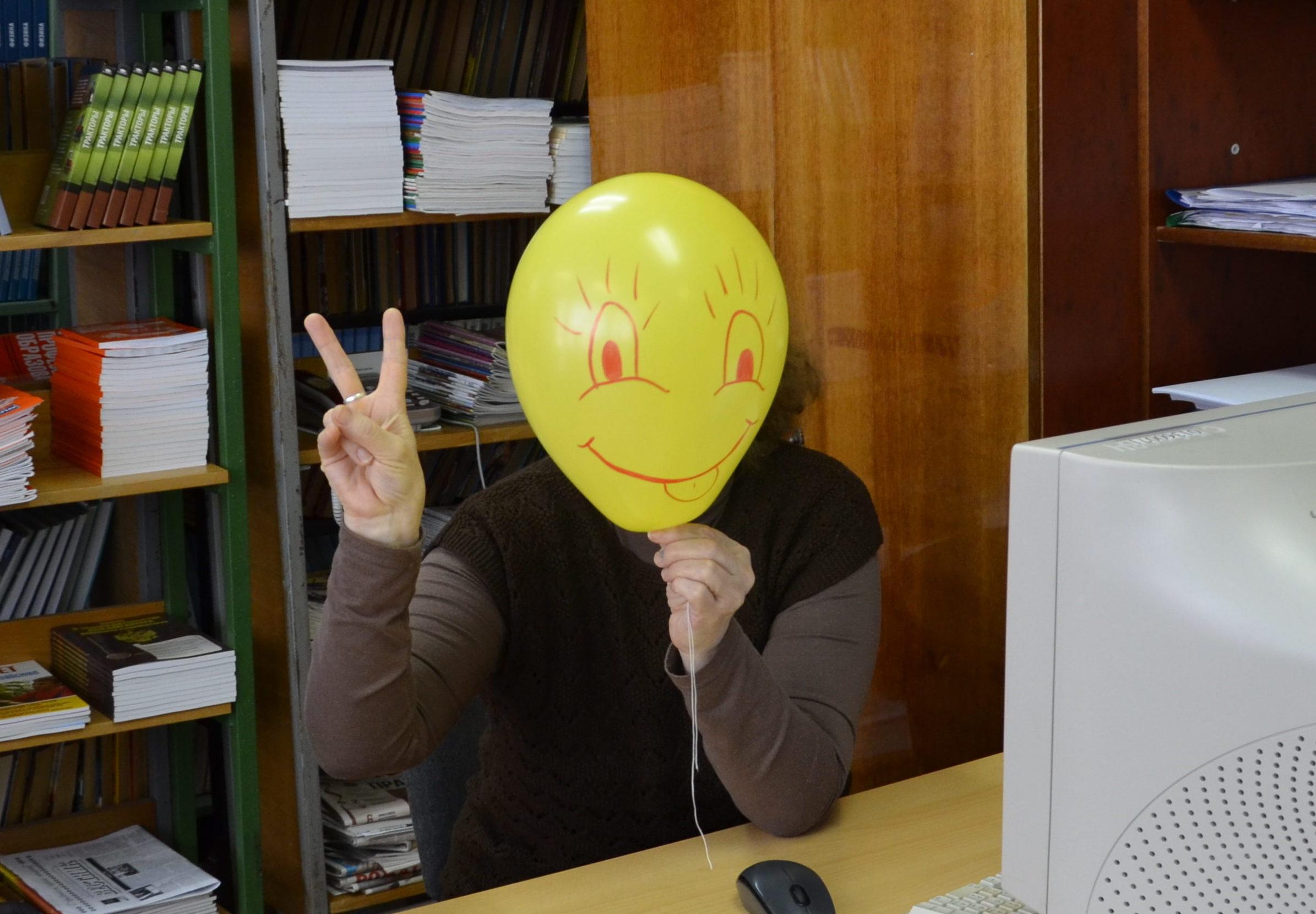 В Ардатовском Аграрном Техникуме раздавали улыбки
