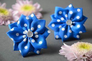 Мастер-класс в технике канзаши «Подари подарок маме»